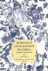 Civilization and science in China vol 1 - masterpiece by Joseph Needham
